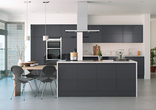 Lucente Anthracite Kitchen