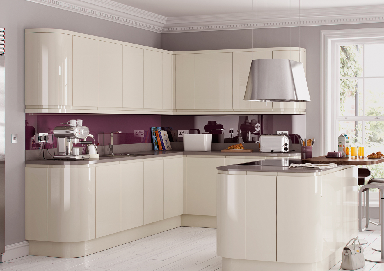 High gloss kitchen cabinets cheap high gloss kitchens for Kitchen manufacturers durban