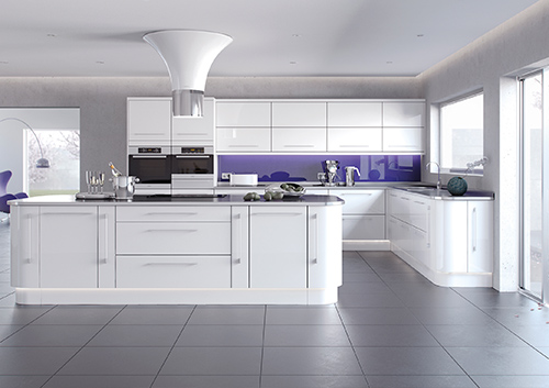 Lusso White Kitchen