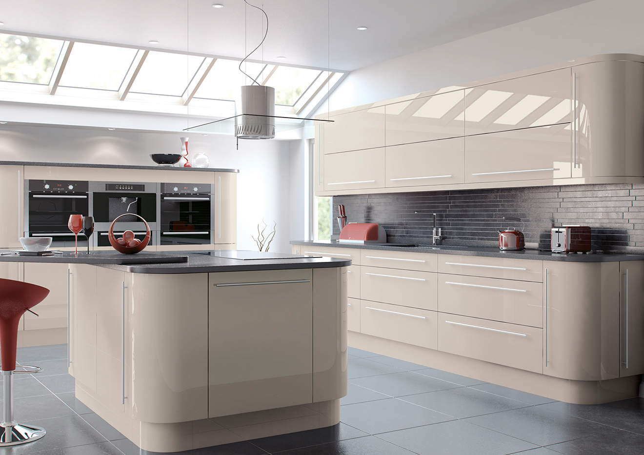 Vivo High Gloss Kitchens Crown House